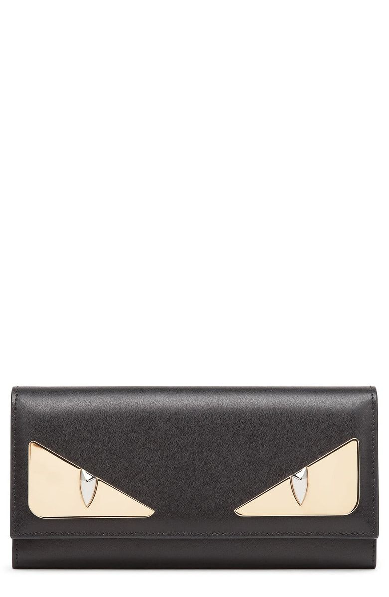 8df7560daef Free shipping and returns on Fendi Monter Leather Continental Wallet at  Nordstrom.com. Polished