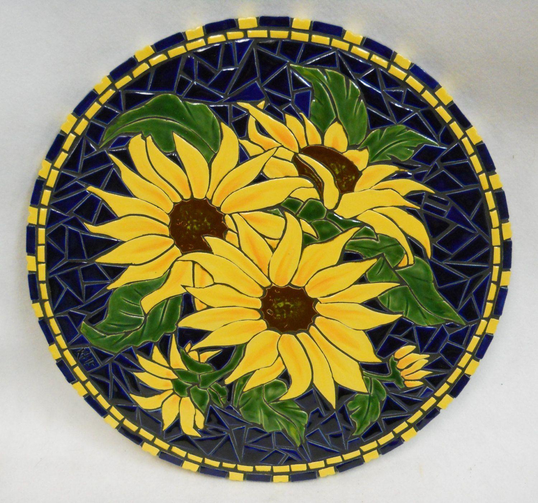 Mosaic Wall Art Handmade Ceramic Tile от HouseofWhisperingFir   Идеи ...