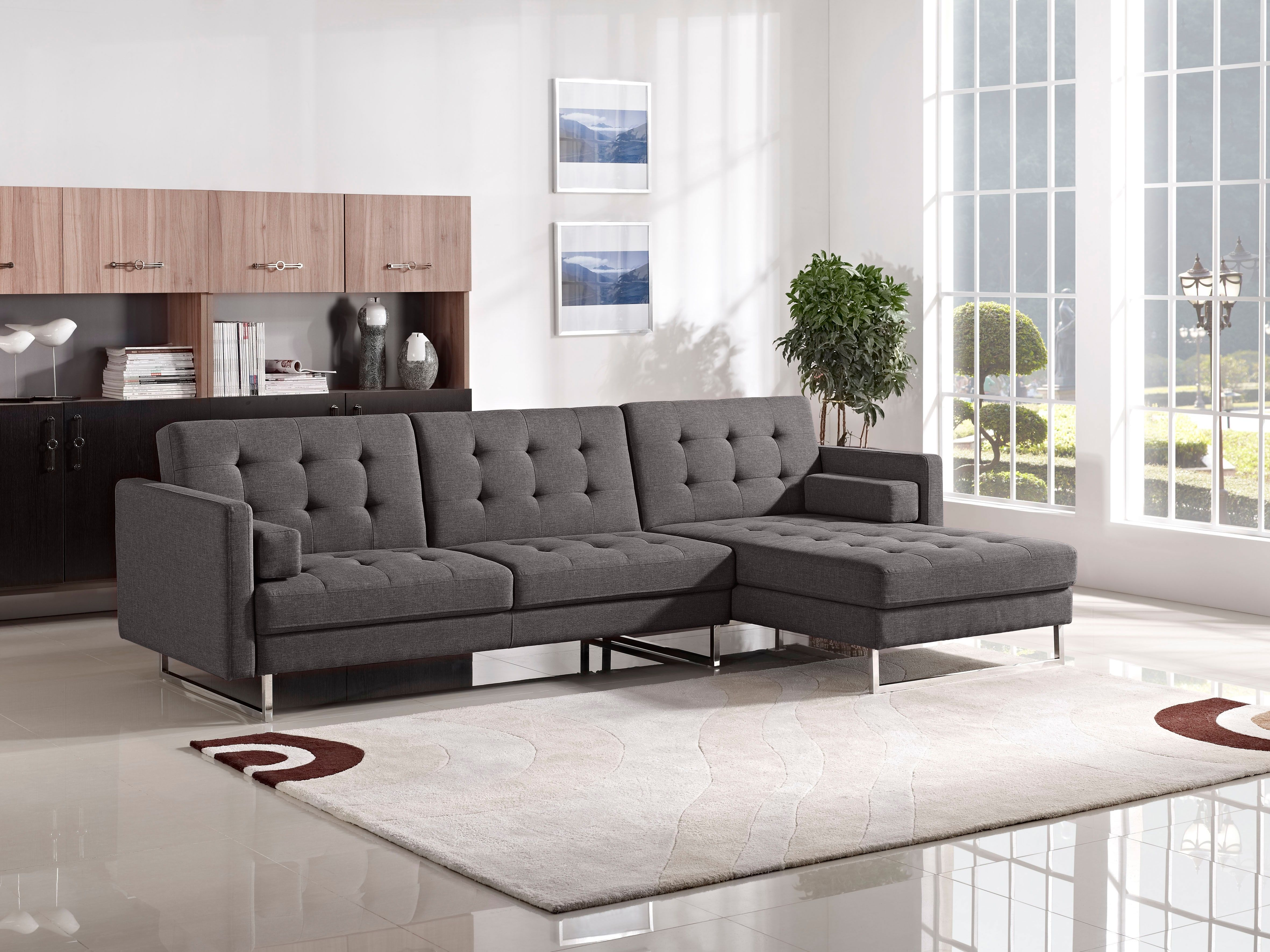 Sectional Sleeper Sofa Tufted Sectional Sofa Bed