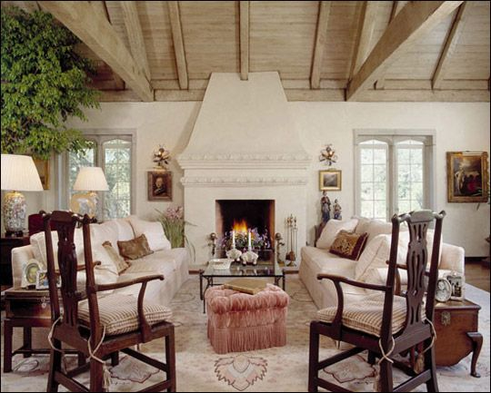 Ann James Interior Design | English Tudor Residence
