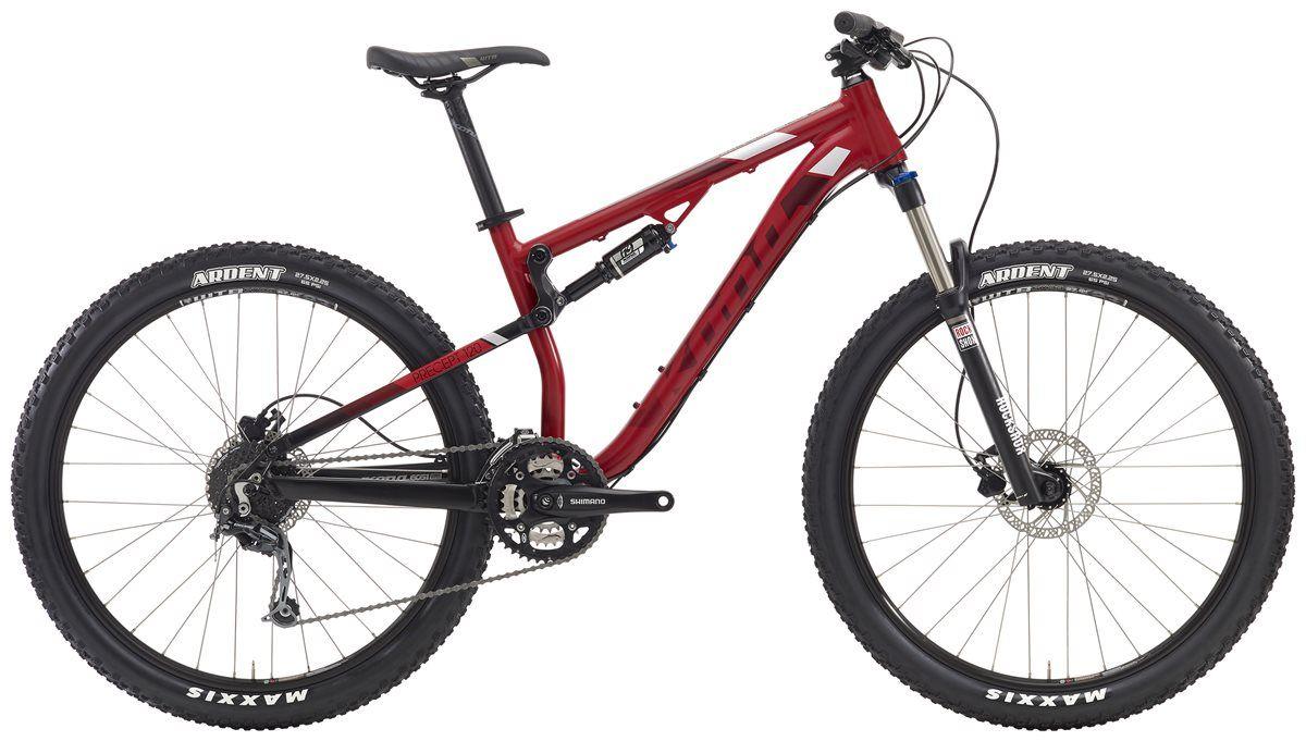 Kona Precept 120 Mountain Bike 2016 Trail Full Suspension Mtb
