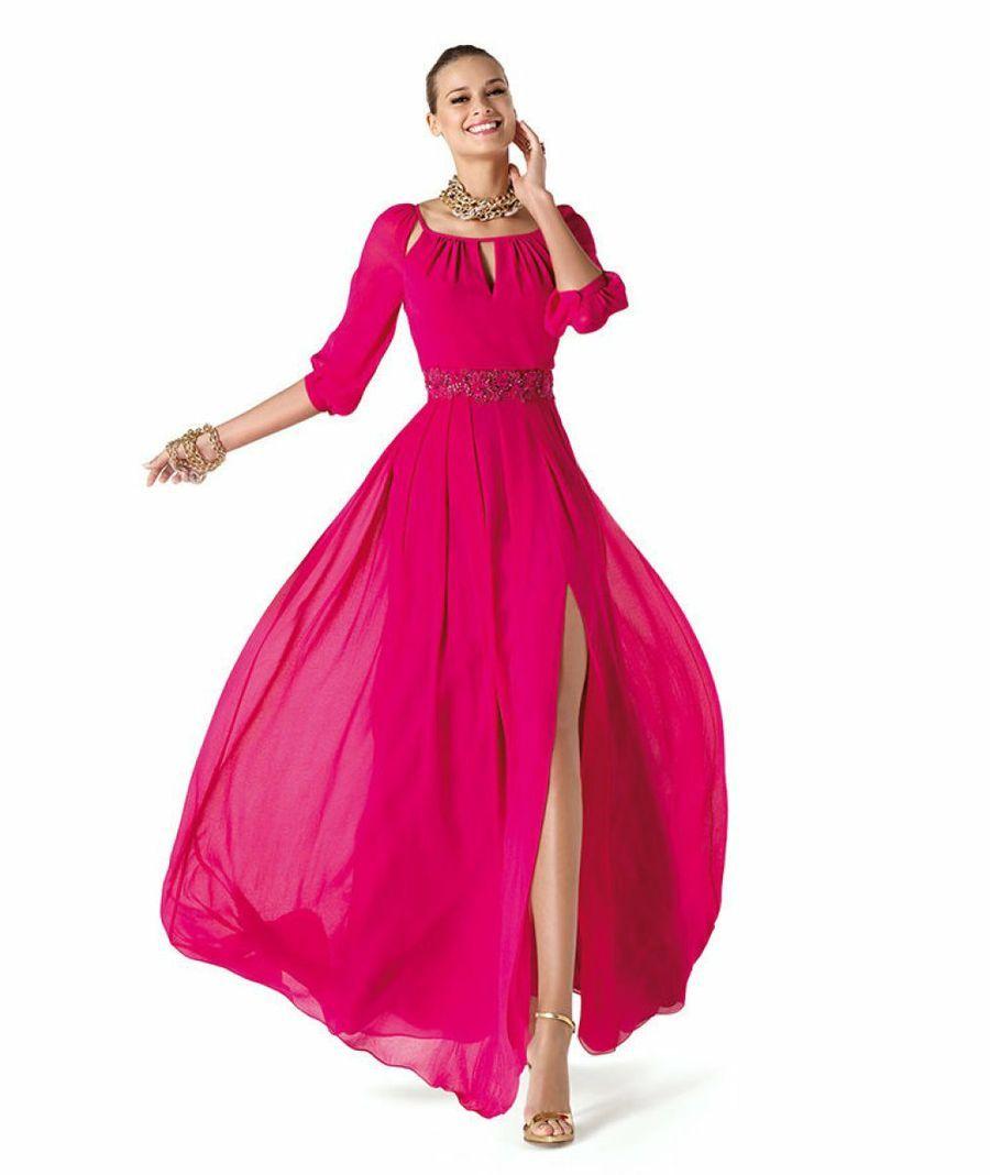20 Vestidos rosas para invitadas: porque es el color de moda ...