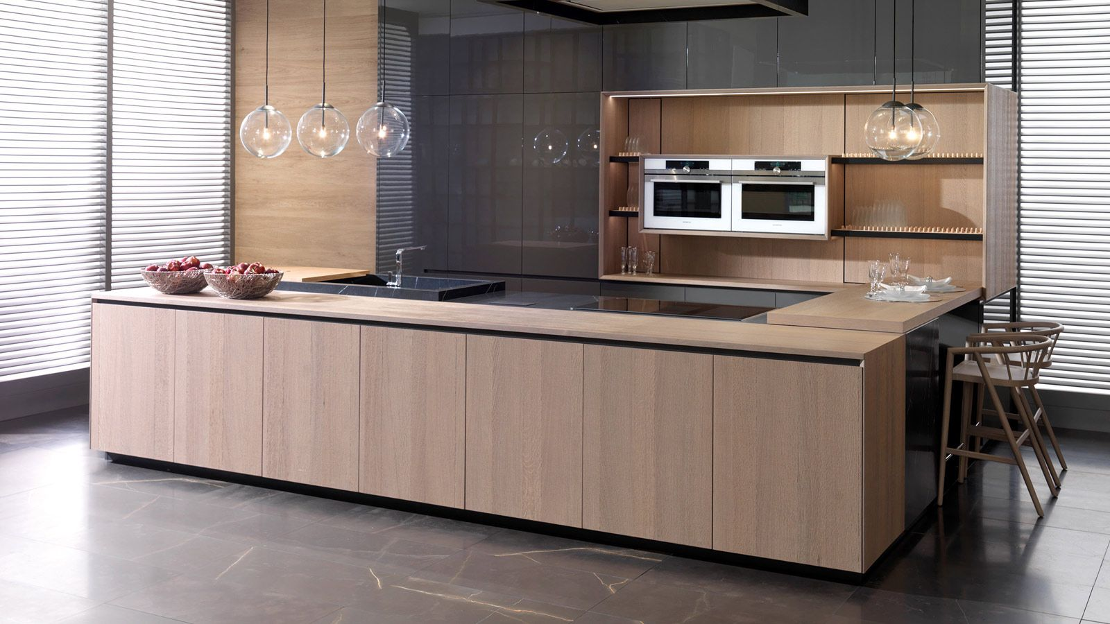 Gamadecor Kitchens Quality Guaranteed Porcelanosa Trendbook In 2020 Interior Design Kitchen Kitchen Peninsula Kitchen Design