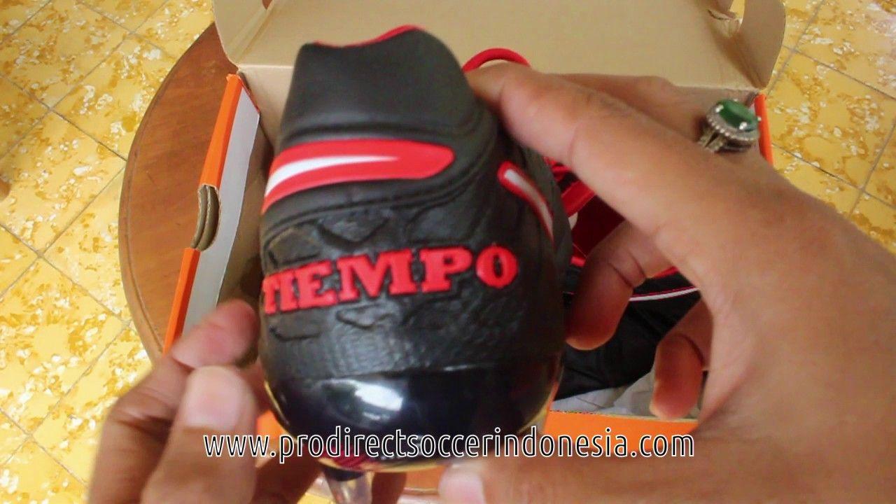 Sepatu Bola Nike Tiempo Legend Vi Fg Black White 819177 016