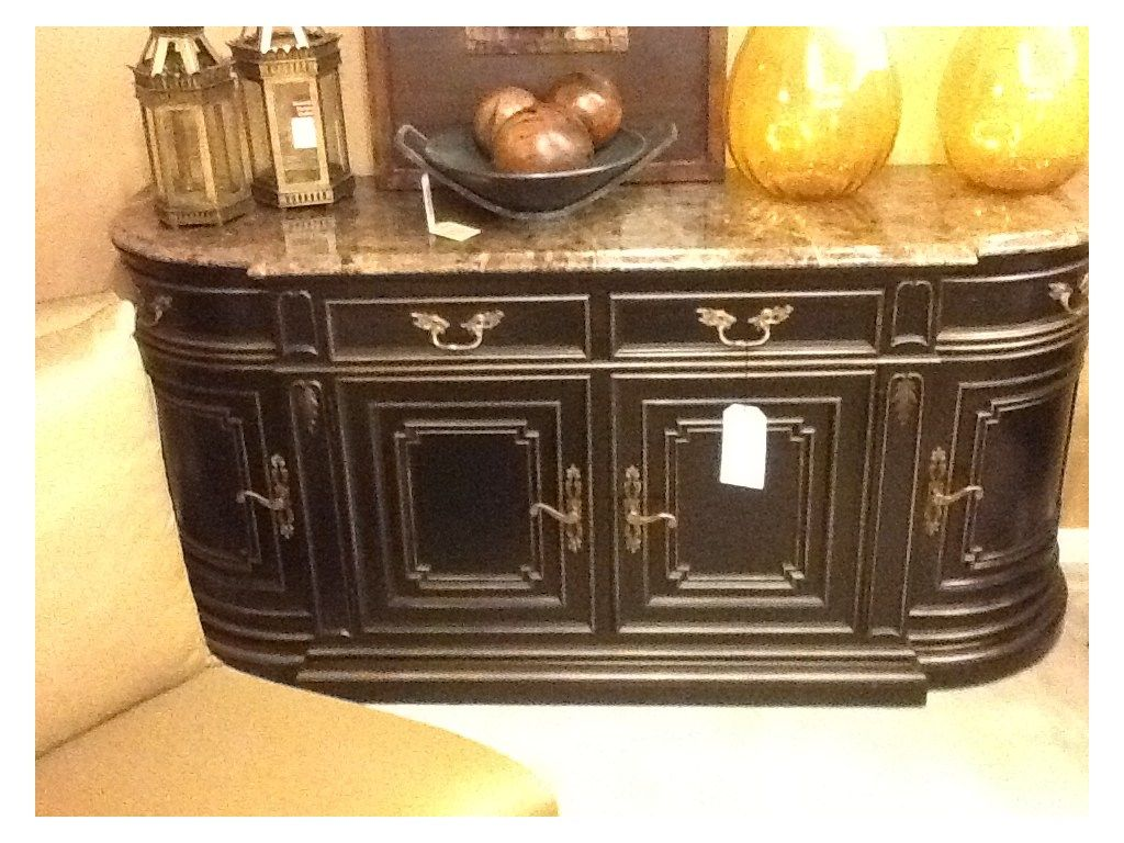 Room Henredon Factory Outlet Dining Buffet With Marble Top