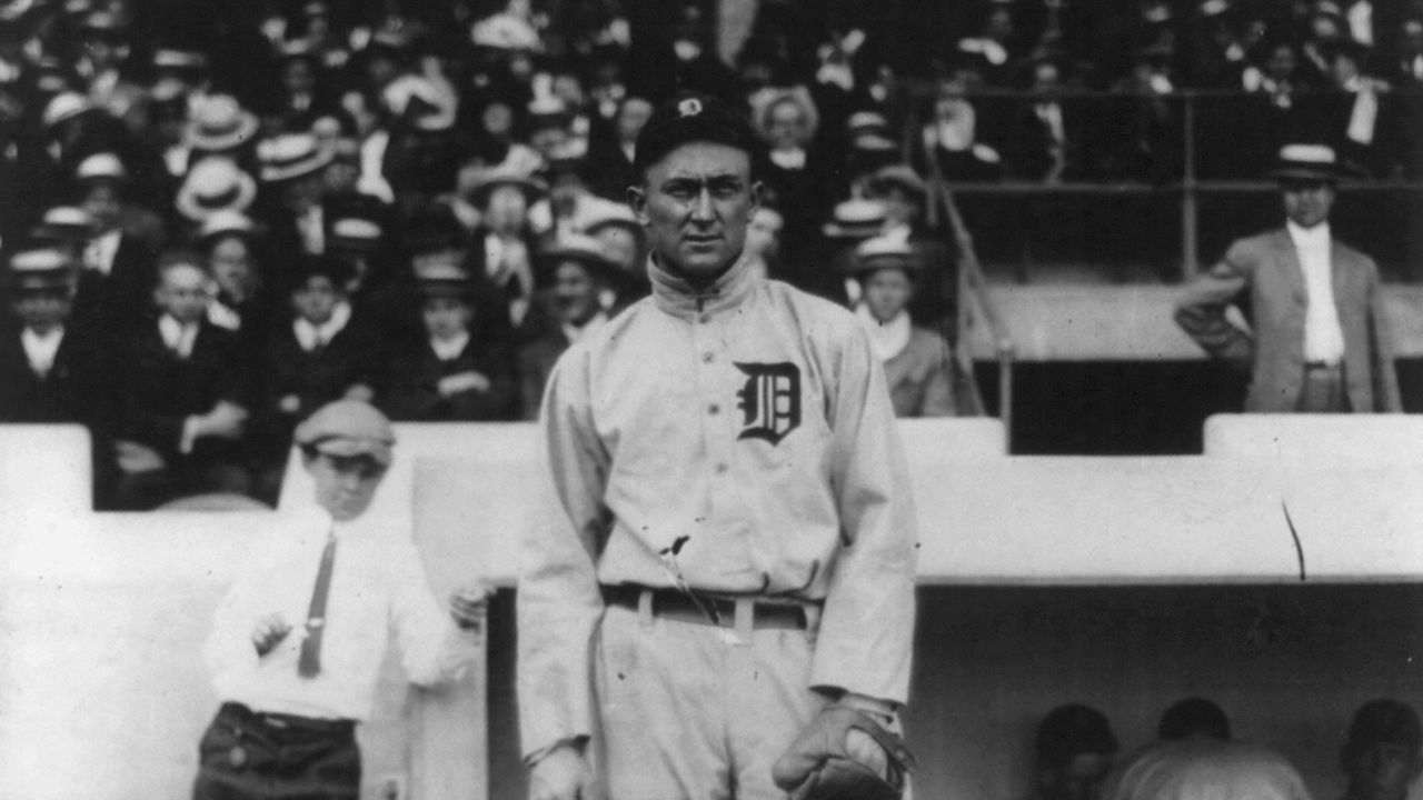 Ty Cobb, who else?