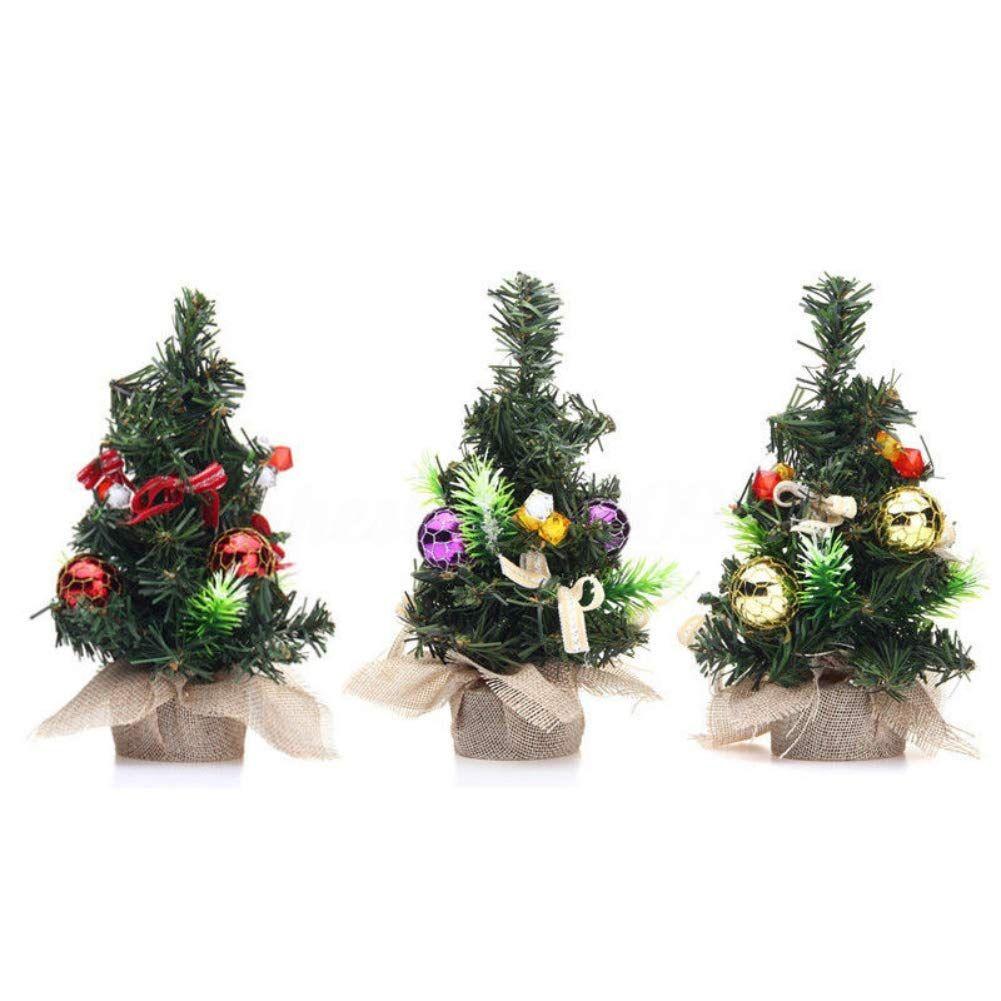 Christm Trees Desk Table Decor Mini Xmas Gift Xmas Decorations Small Pine Tree X