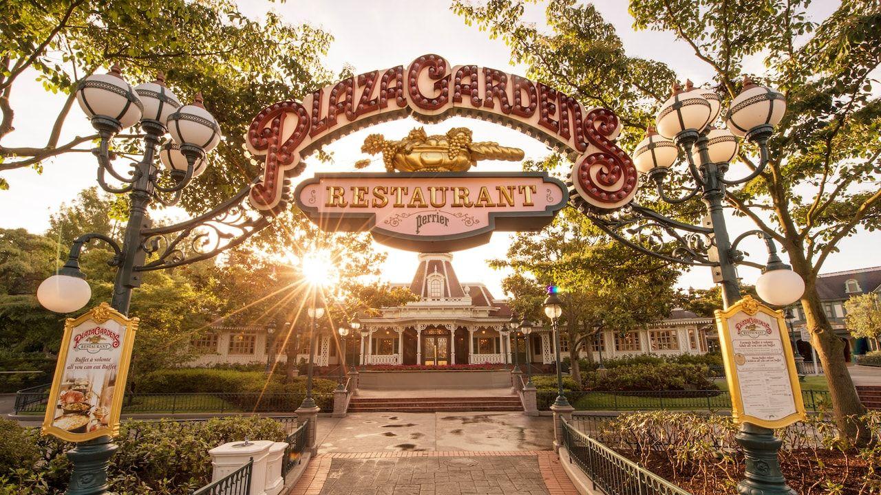 Plaza Garden Restaurant Disneyland