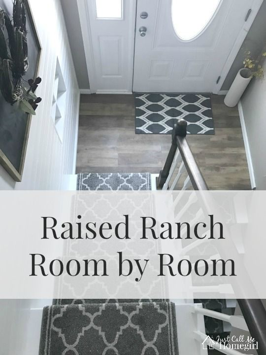 Raised RanchSplit Level home tour room by room and projects