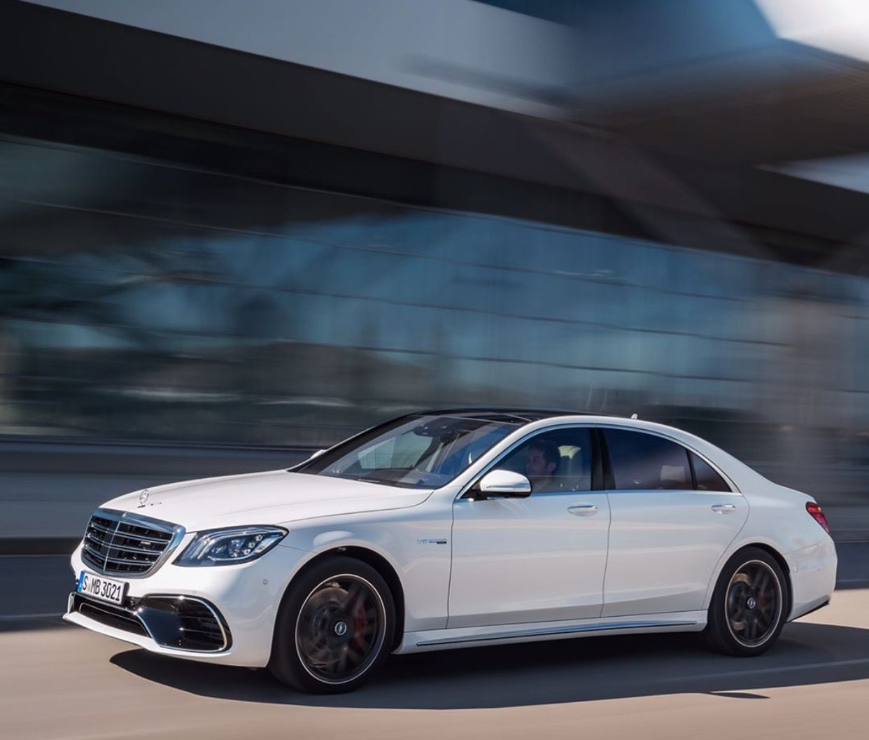 All New 2018 Mercedes-Benz S Class. S63 AMG.
