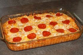 The Lundy 5: Pepperoni Pizza Pasta