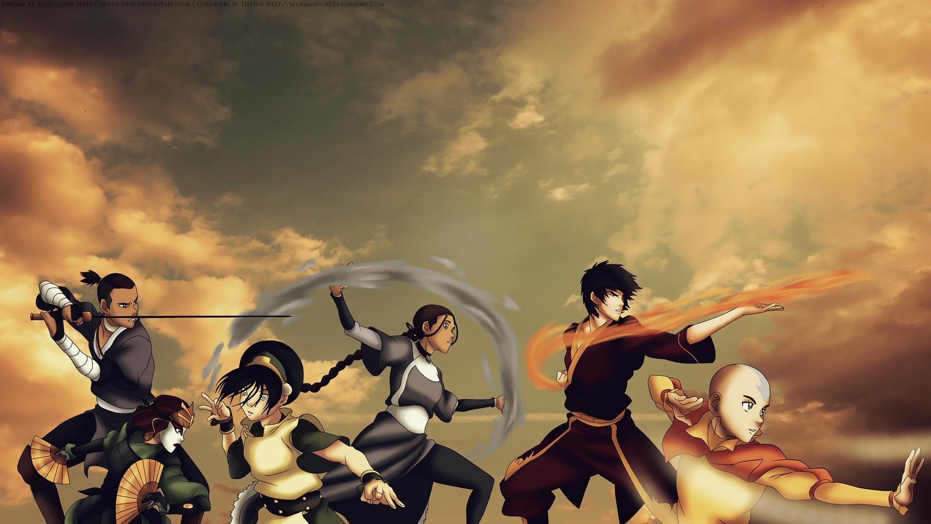 Avatar The Last Airbender Wallpaper Background