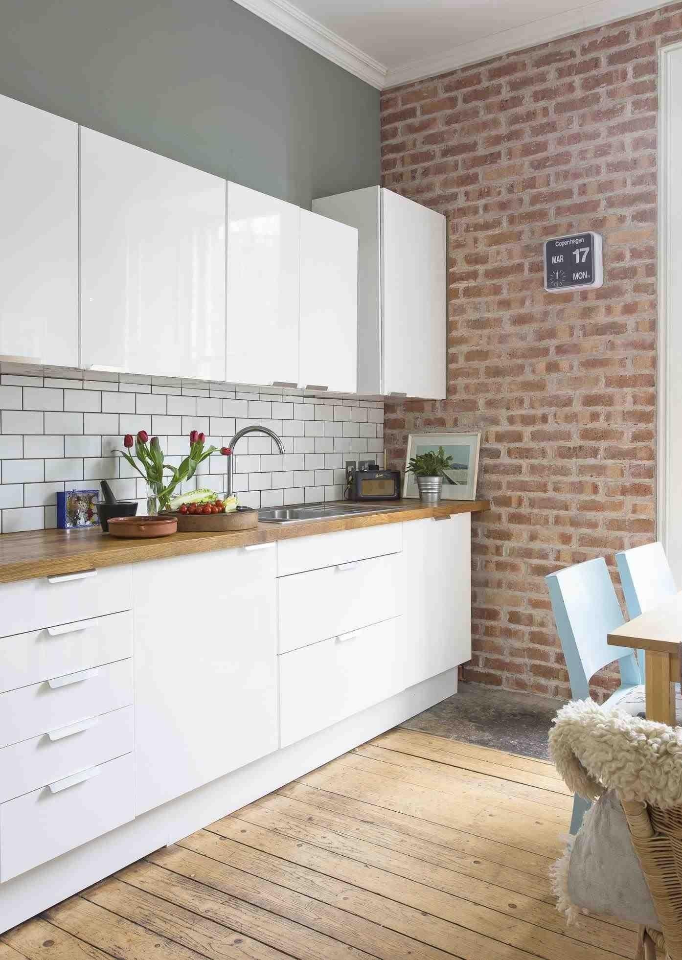 Creative Cute Exposed Brick Kitchen Ideas In 2020 Exposed Brick