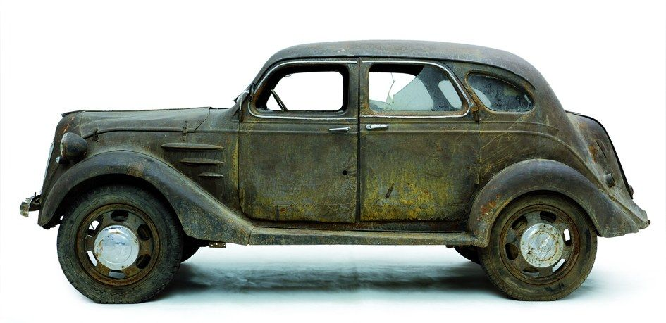 Very cool - great history of discovery - Toyota AA 1936 ...