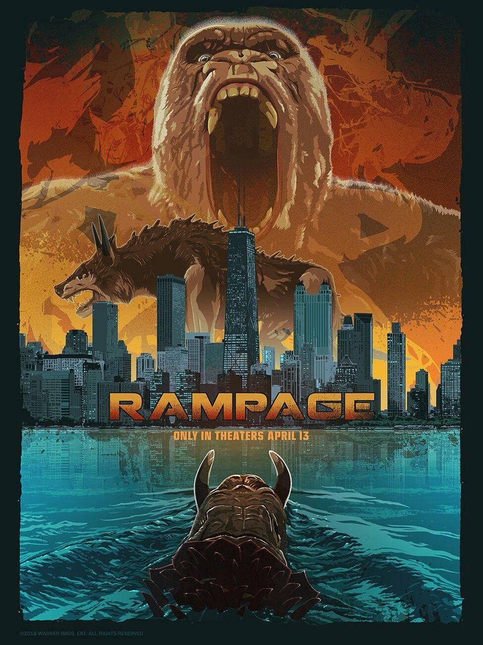 Rampage Film 2019