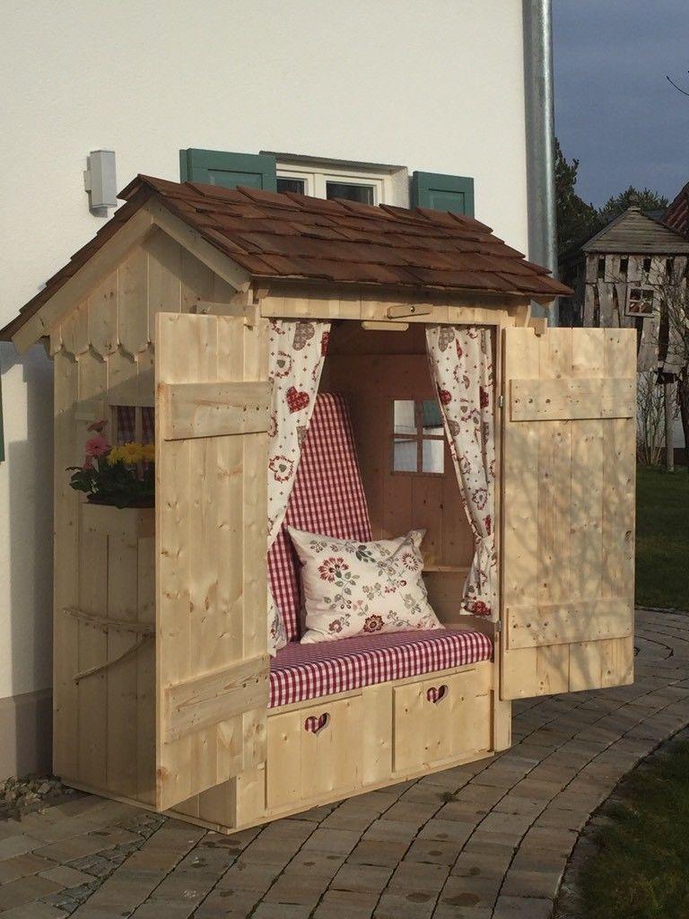 Alm Hutten Strandkorb In Kr Dachau Pfaffenhofen A D Glonn Ebay Kleinanzeigen Holzhutte Garten Selbstgemachte Gartenmobel Spielhauser