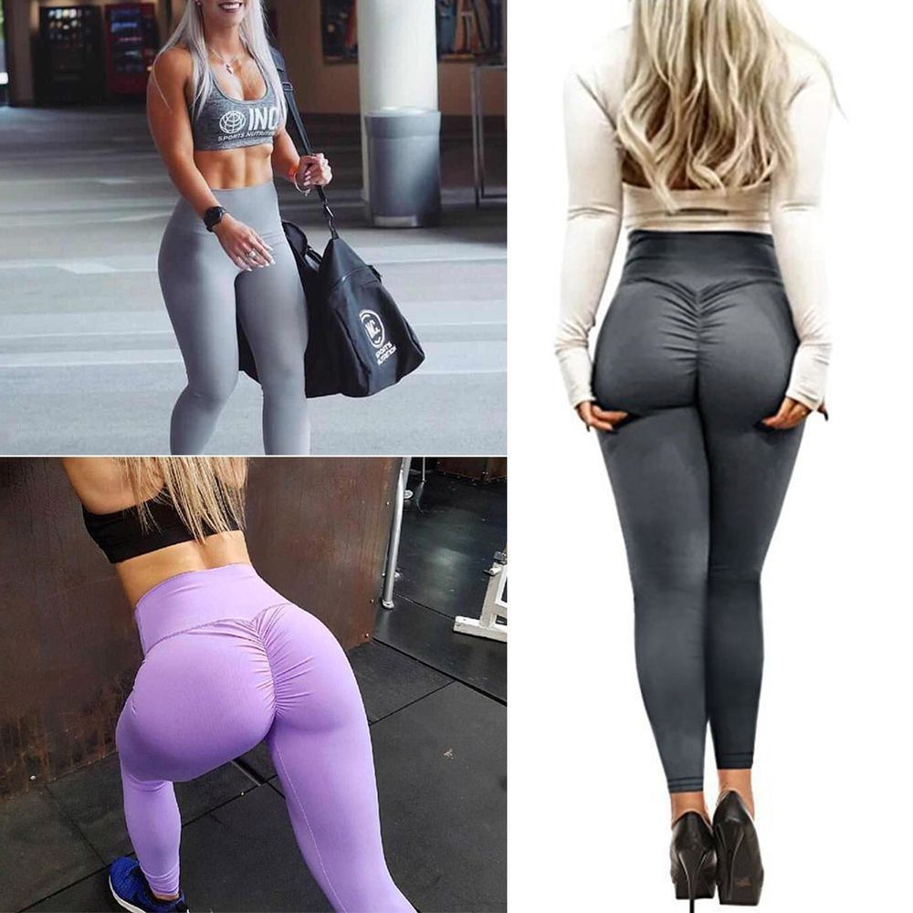 c75816dc16dda Women Push Up Sports Scrunch Butt Lift Elastic Leggings Gym Yoga Hot Pants  SEXY #fashion #clothing #shoes #accessories #womensclothing #activewear  (ebay ...