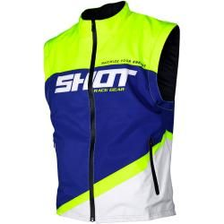 Photo of Shot Bodywarmer Lite Motocross Weste Blau Gelb 2xlfc-moto.de