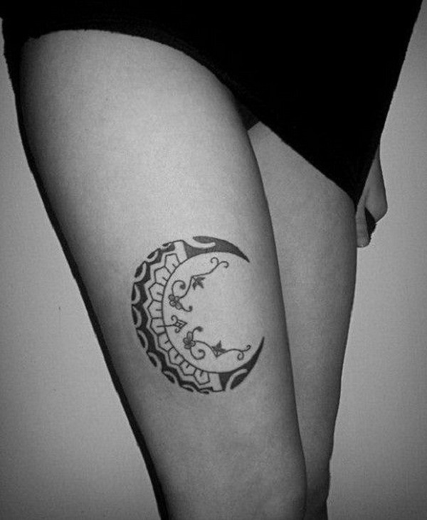 30+ Examples of Amazing and Meaningful Moon Tattoos Moon