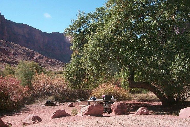 Big Bend Campground Blm Colorado River Scenic Byway Utah