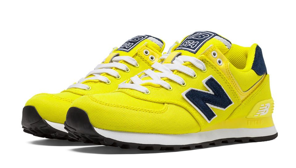 Pique New With Balance Polo 574 PackYellow NavyFitness Yfg76ybv