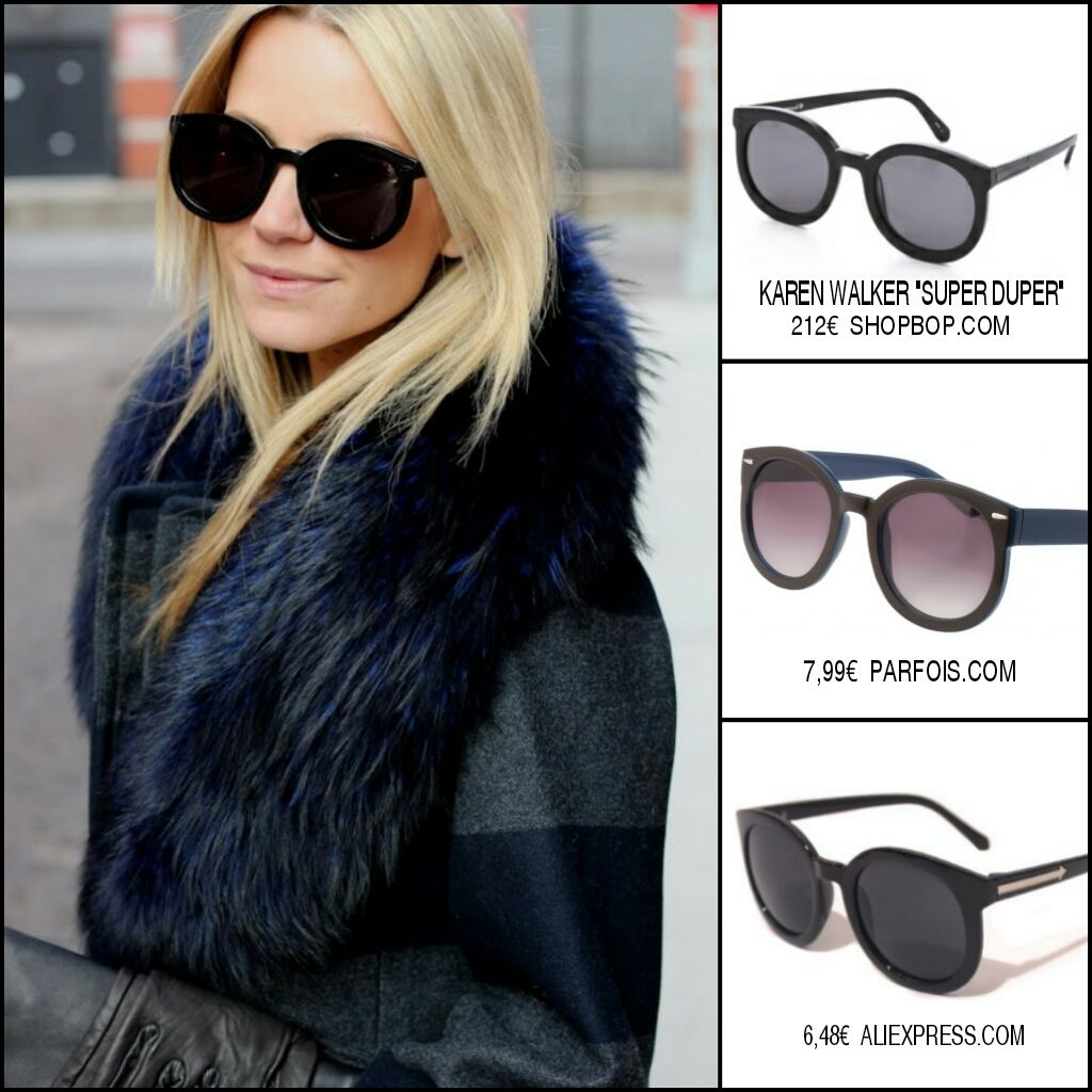 7eea94a178 clon gafas de sol karen walker super duper sunglasses inspired replica  street style marc jacobs asos