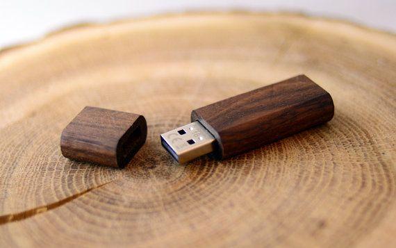 5 psc Walnut  Exotic Wooden USB flash drive memory stick 8GB16GB32GB64GB usb stick