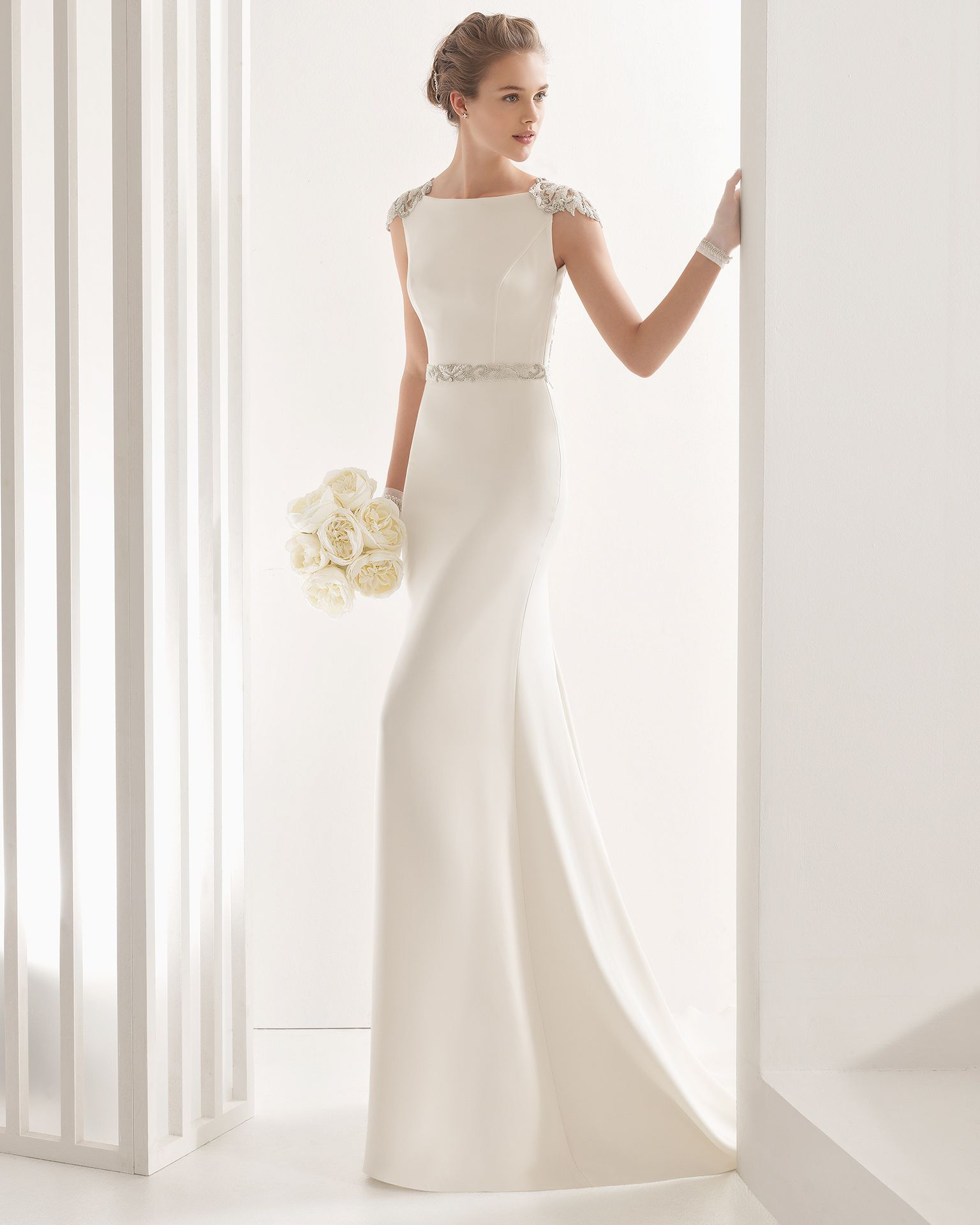 Naira - 2017 Bridal Collection. Rosa Clará. | Pinterest | Wedding ...