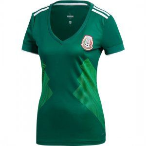 b24377f1c89 2018 World Cup Women Jersey Mexico Home Replica Green Shirt  BFC300 ...