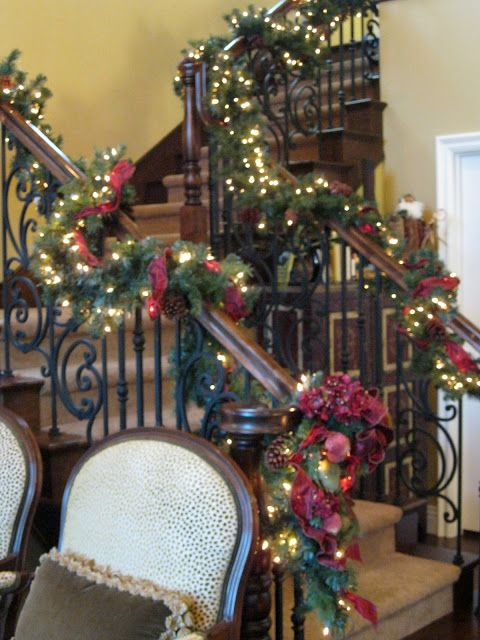 C.B.I.D. HOME DECOR and DESIGN: CHRISTMAS DECOR: Beautiful touches in a beautiful home