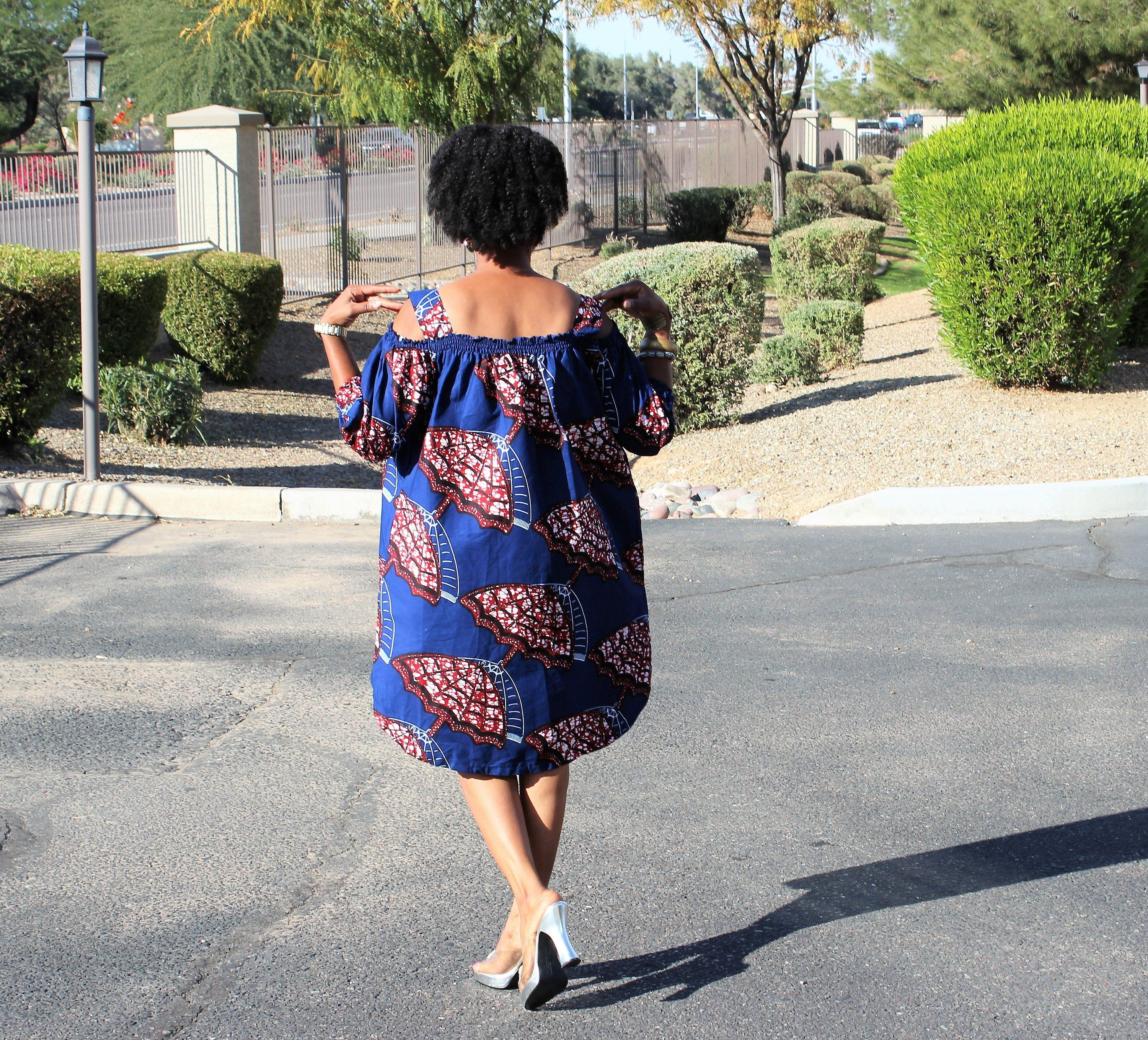 African Holiday Dress