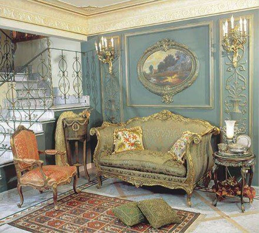 Home Design and Decor , Vintage French Decorating Ideas : Vintage French  Decorating Ideas With Furniture