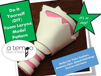 Diy foam larynx model patterns speech pathology language and diy foam larynx model patterns solutioingenieria Choice Image