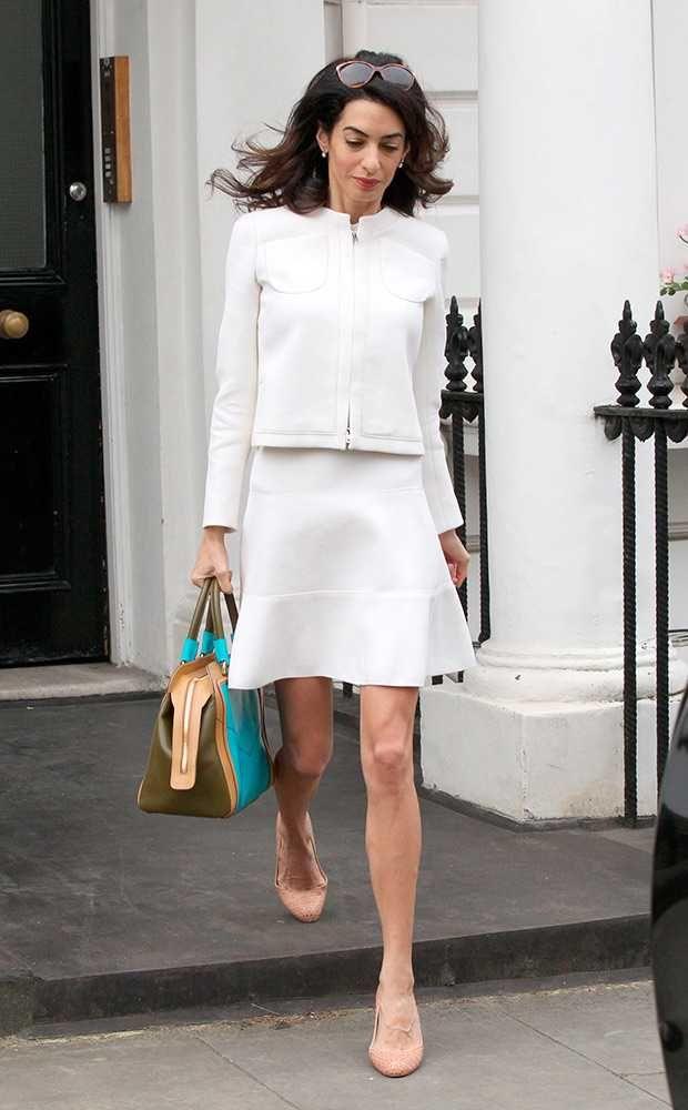 Amal Clooney's Style File | Fashion, Trends, Beauty Tips & Celebrity Style Magazine | ELLE UK