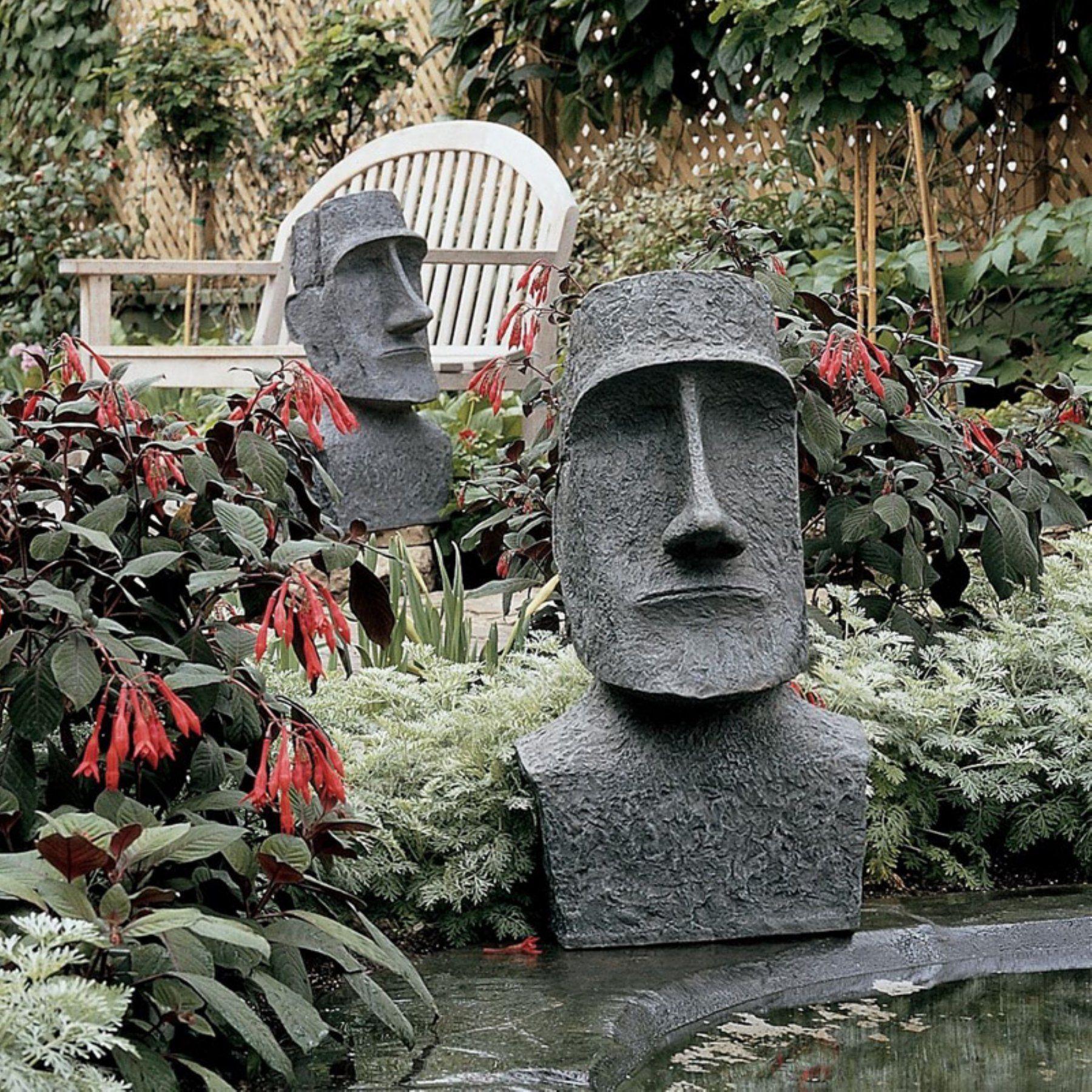 Design Toscano Easter Island Moai Monolith Garden Statue Db555
