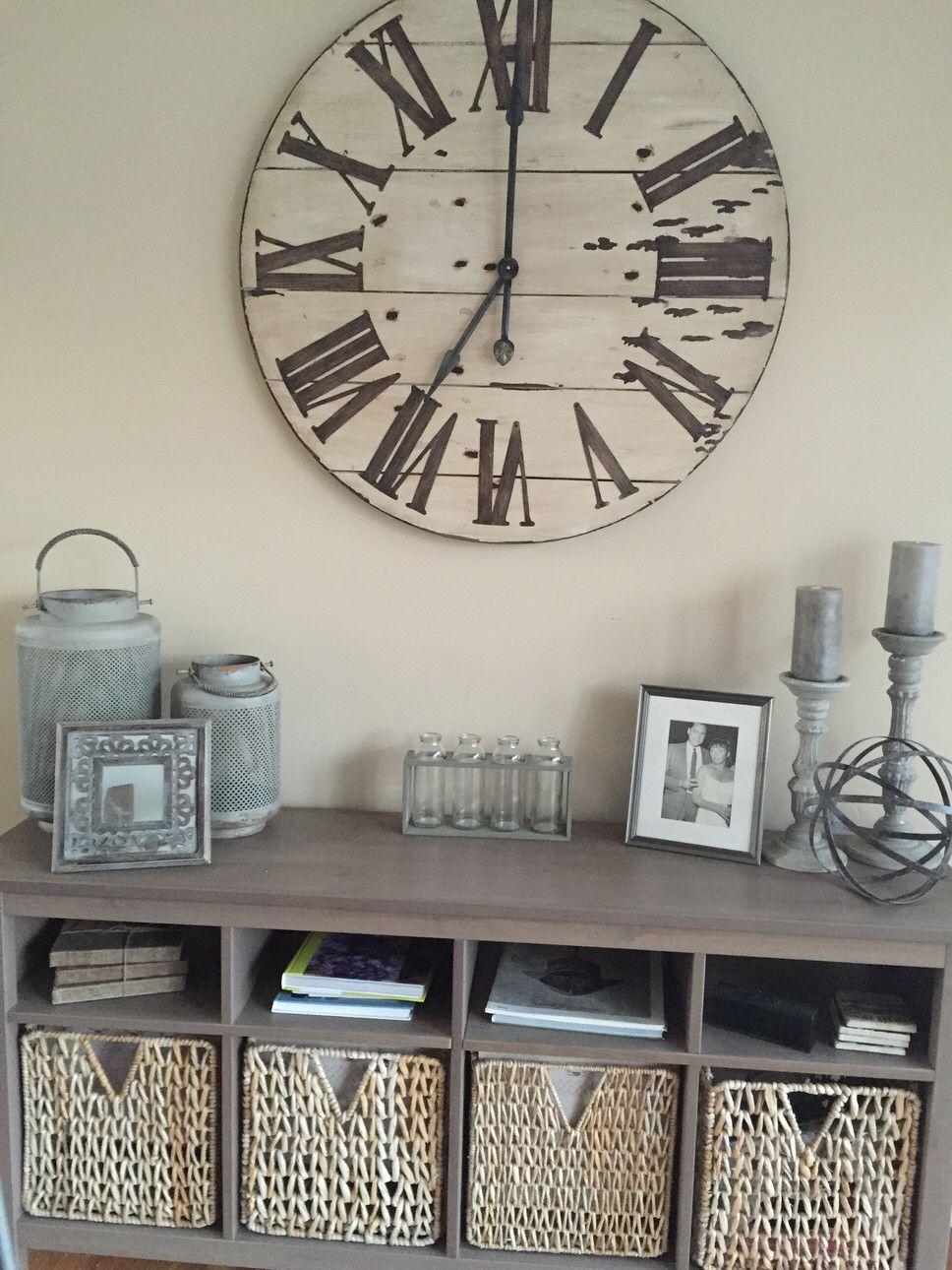 Harrington Oversized 36 Wall Clock Decor Wall Decor Living
