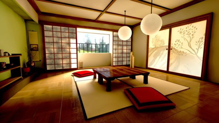 Traditional Japanese Living Room 231 Japanese Interior Design