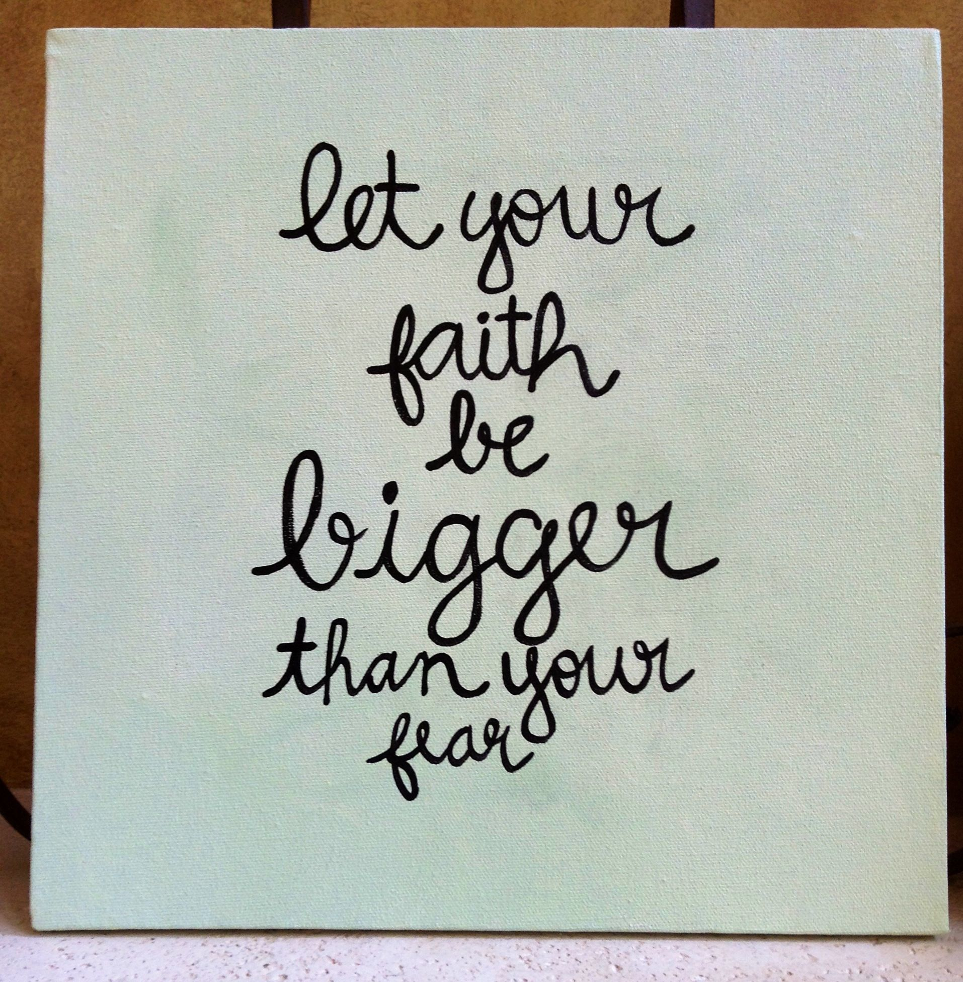"Sq Quote Unique 12"" Sq Hand Painted Distressed Green Canvas ""faith"" Quote Hws . Design Inspiration"