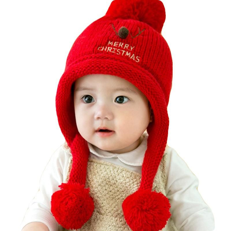 dd4ac2e884a1 0-2 years old 2017 winter Hot sales Baby s plush hat Hooded hat for ...
