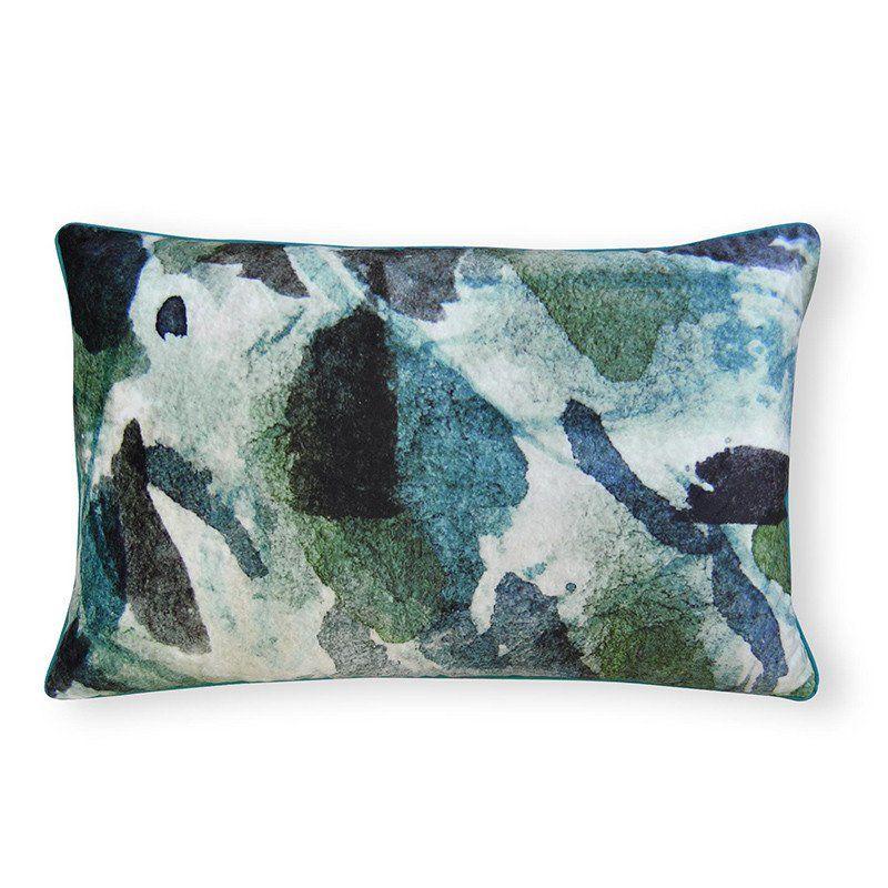 Quartz Blue Cushion 40x60cm Blue Cushions Cushions
