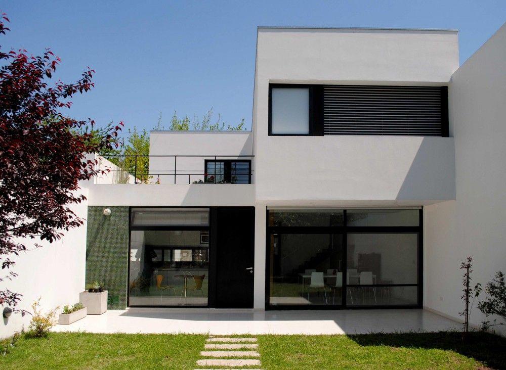Casa dorrego ballesteros arquitectos buenos aires for Planos de casas sencillas