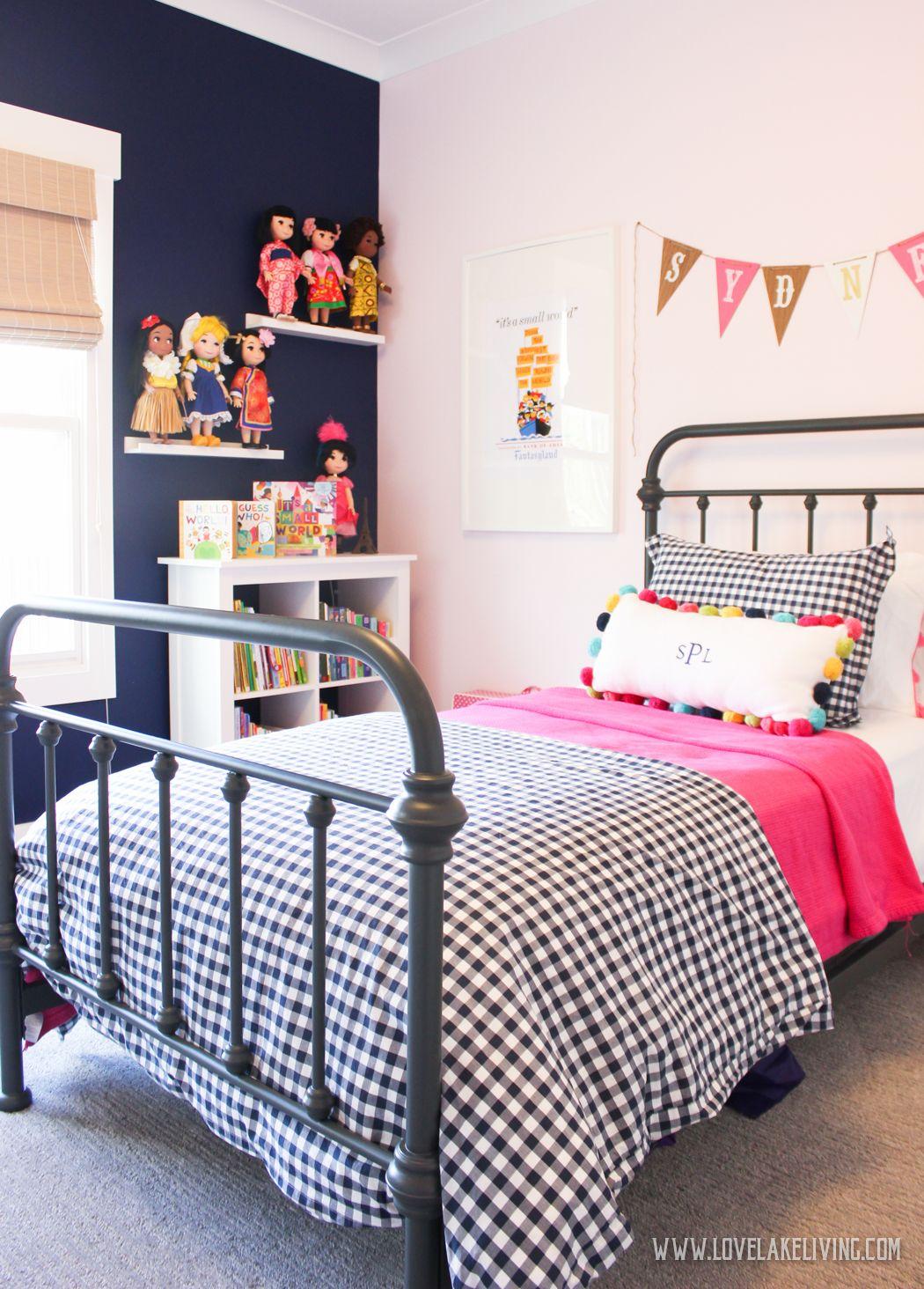 A Shared Girls Room.   Shared Girls Room, Shared Girls Bedroom, 4 Year Old Girl Bedroom