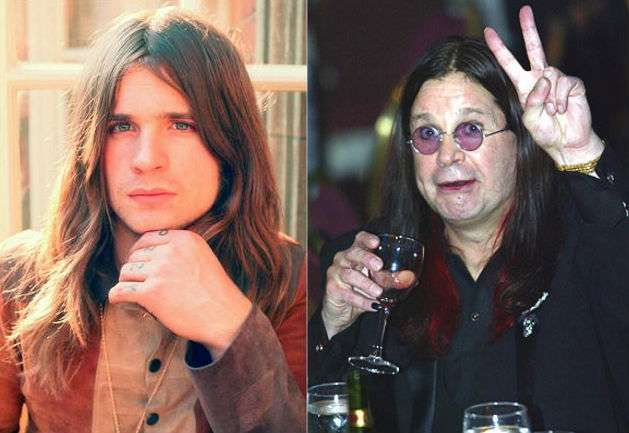Celebrities Who Have Aged The Worst Ozzy Osbourne Celebrities Celebrities Then And Now
