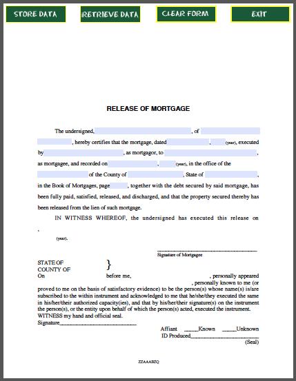 Release Of MechanicS Liens Certificate Template  Business