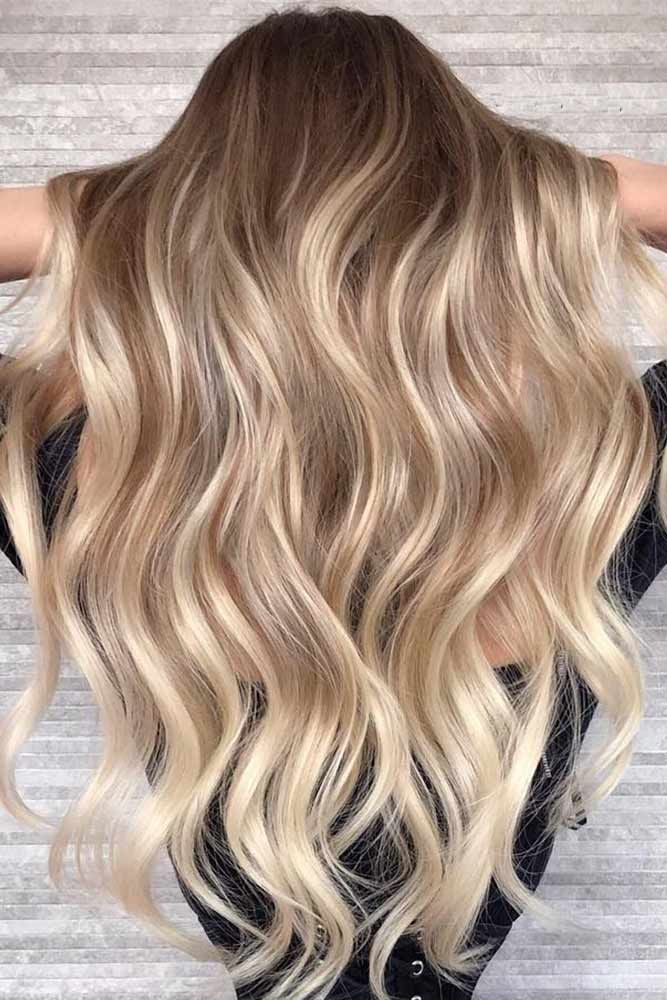 Color Trendy Hair Color Balayage Highlights How Often Do You Mix