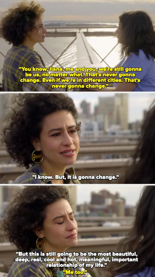 21 Times Broad City Was Hilarious But Also Captured The Beauty Of Female Friendship Female Friendship Broad City Broad City Quotes