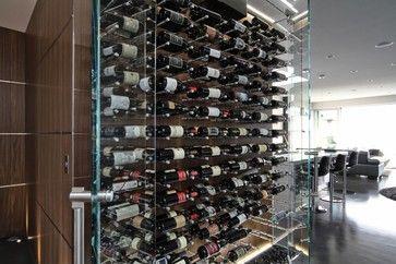 vin de garde wine cellar modern wine cellar modern design glass wine nek rite series. Black Bedroom Furniture Sets. Home Design Ideas