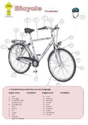 English Teaching Worksheets The Bicycle Sponsored Child Letter