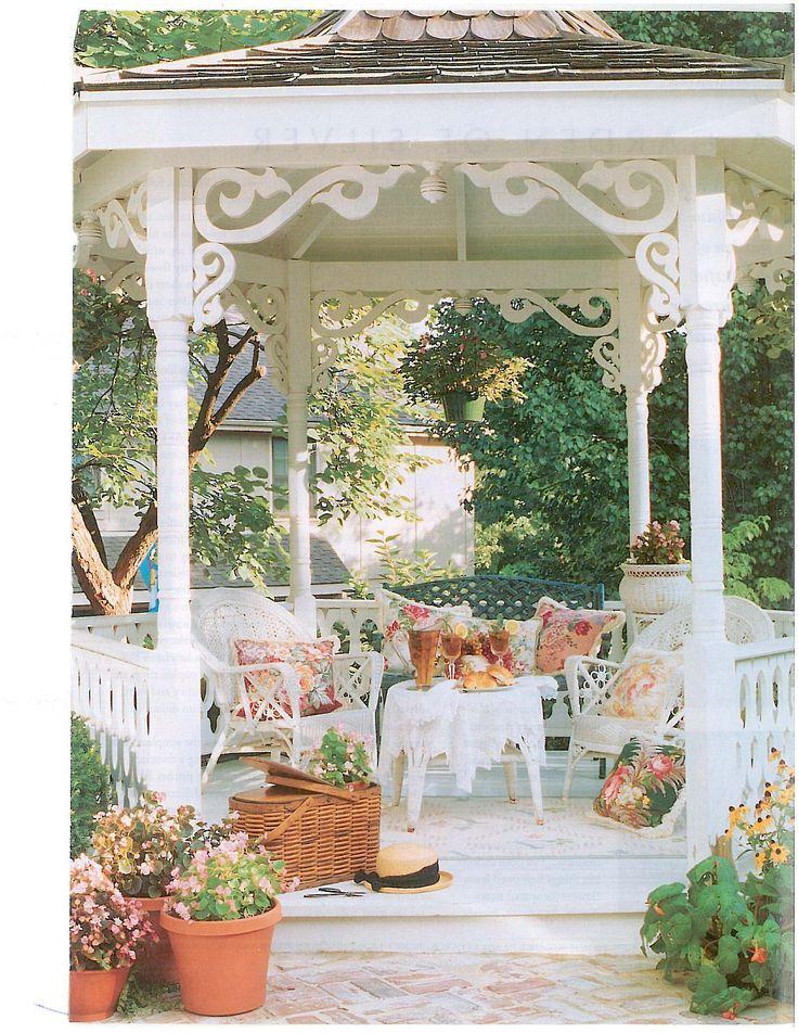 Veranda goals.   Outdoor Spaces   Terraza jardin, Casa jardin, Cenador