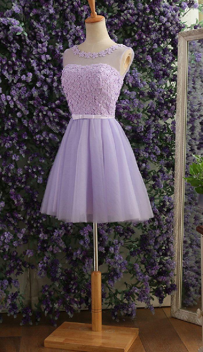Elegant gray prom dressestulle flower beaded prom dressesshort